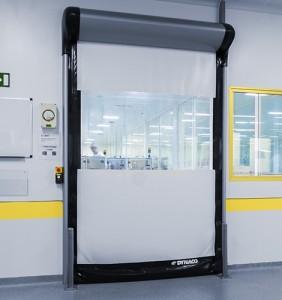 Cleanrooms demand the very fastest door speeds