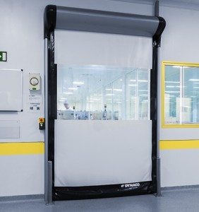 Cleanrooms demand the very fastest door speeds